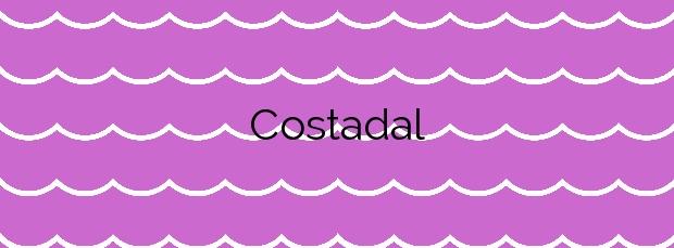 Información de la Playa Costadal en Boiro