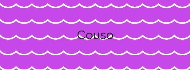 Información de la Playa Couso en Cangas