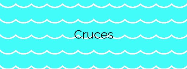 Información de la Playa Cruces en Ribeira