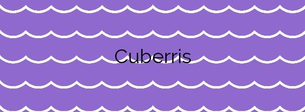 Información de la Playa Cuberris en Bareyo