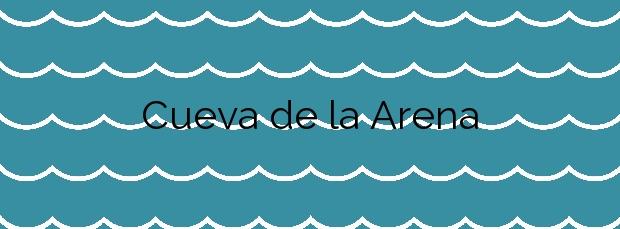 Información de la Playa Cueva de la Arena en Arico