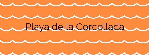 Información de la Playa de la Corcollada en Santa Cristina d'Aro