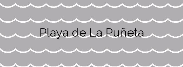 Información de la Playa de La Puñeta en Mazarrón