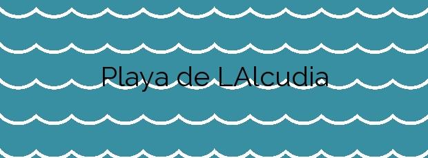 Información de la Playa de L'Alcudia en Nules
