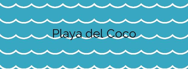 Información de la Playa del Coco en Badalona