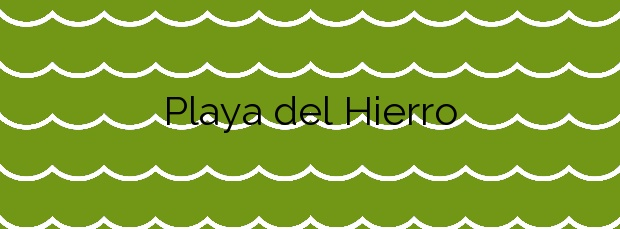 Información de la Playa del Hierro en La Oliva