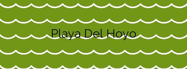 Información de la Playa Del Hoyo en Isla Cristina