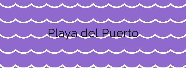Información de la Playa del Puerto en Corcubión