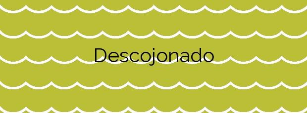 Información de la Playa Descojonado en La Aldea de San Nicolás