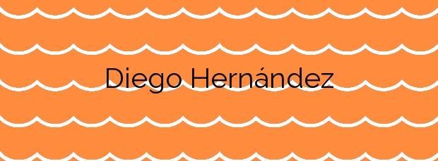 Información de la Playa Diego Hernández en Adeje