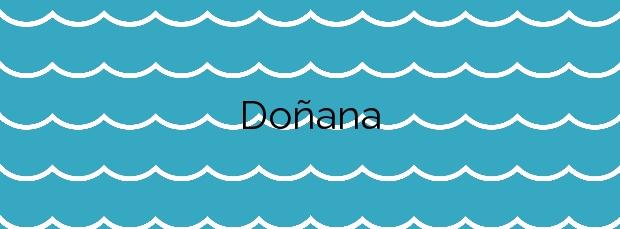 Información de la Playa Doñana en Almonte