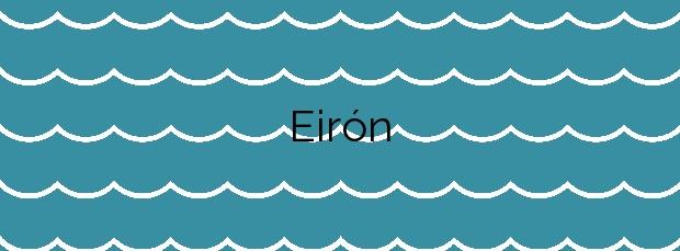 Información de la Playa Eirón en Ortigueira