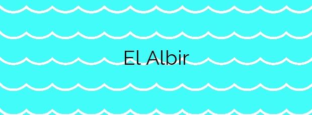 Información de la Playa El Albir en L'Alfàs del Pi