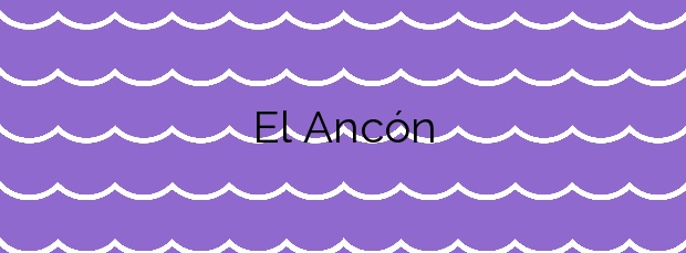 Información de la Playa El Ancón en La Orotava