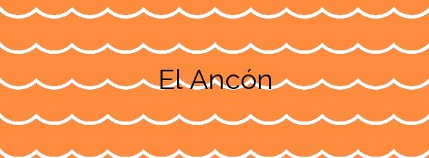 Información de la Playa El Ancón en Marbella
