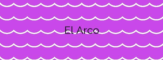 Información de la Playa El Arco en Níjar