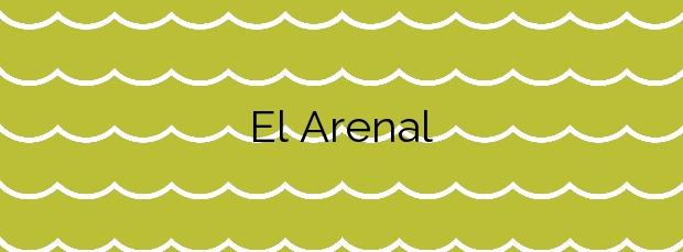 Información de la Playa El Arenal en Cartagena