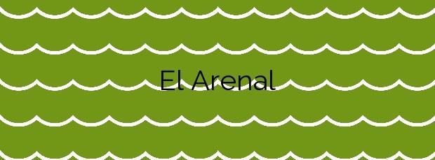 Información de la Playa El Arenal en L'Ampolla