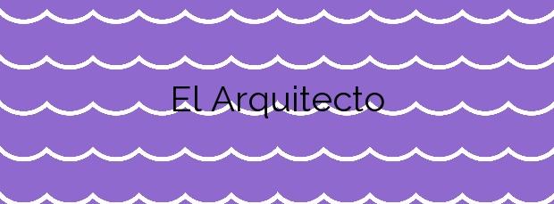 Información de la Playa El Arquitecto en L'Ampolla