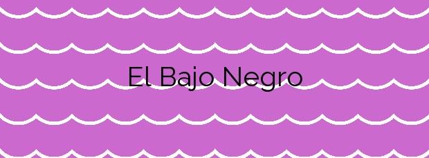 Información de la Playa El Bajo Negro en La Oliva