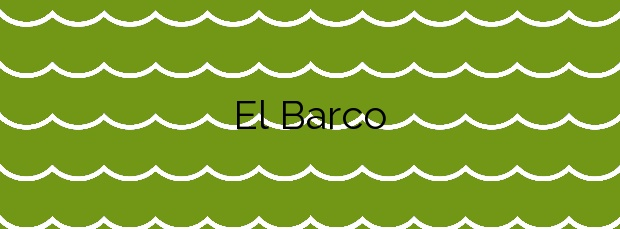 Información de la Playa El Barco en Coaña