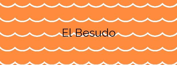 Información de la Playa El Besudo en San Bartolomé de Tirajana
