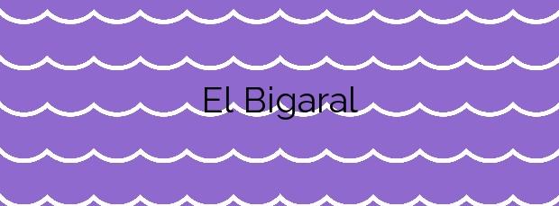 Información de la Playa El Bigaral en Gozón