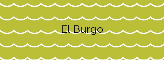 Información de la Playa El Burgo en La Línea de la Concepción
