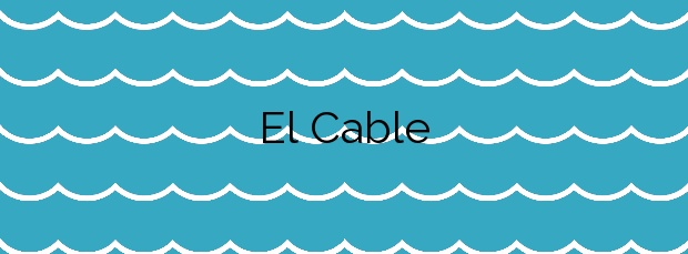 Información de la Playa El Cable en Arrecife