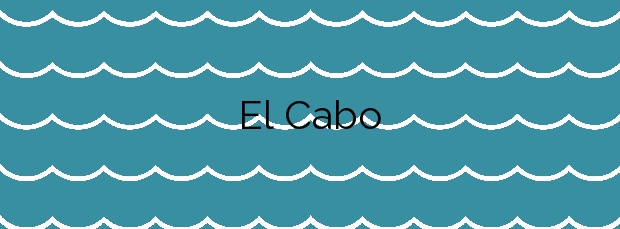 Información de la Playa El Cabo en San Vicente de la Barquera