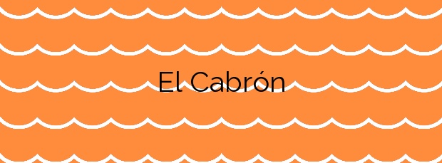 Información de la Playa El Cabrón en Agüimes