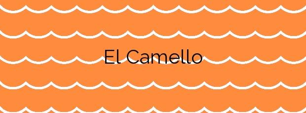 Información de la Playa El Camello en Santander
