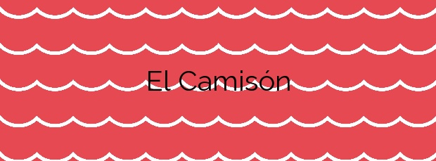 Información de la Playa El Camisón en Arona