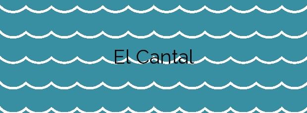 Información de la Playa El Cantal en Mojácar