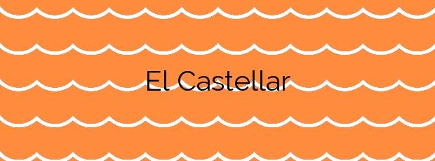 Información de la Playa El Castellar en Mazarrón