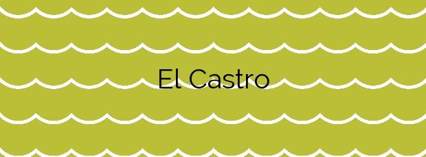 Información de la Playa El Castro en Cudillero