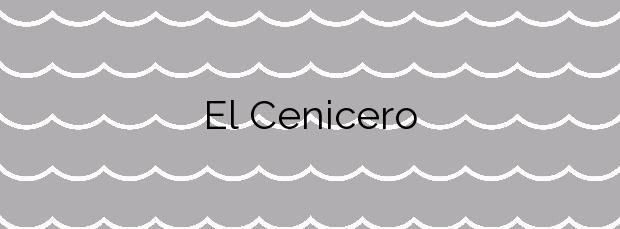 Información de la Playa El Cenicero en Torrox