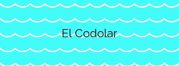 Información de la Playa El Codolar en L'Escala
