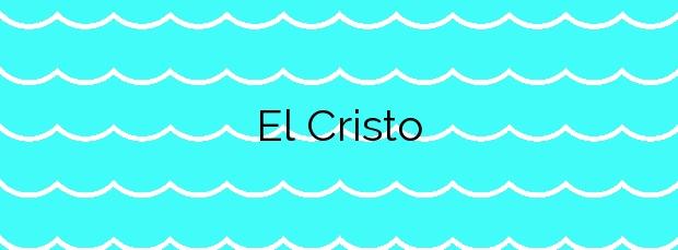 Información de la Playa El Cristo en Estepona