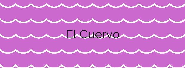 Información de la Playa El Cuervo en Albuñol