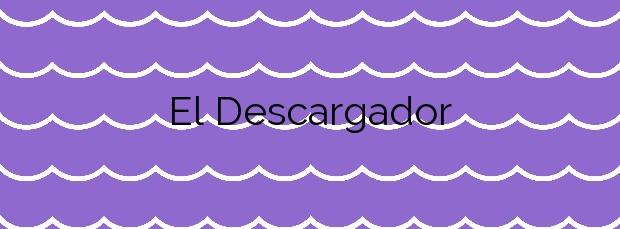 Información de la Playa El Descargador en Cartagena