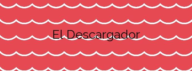Información de la Playa El Descargador en Mojácar