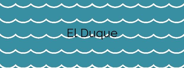Información de la Playa El Duque en Adeje