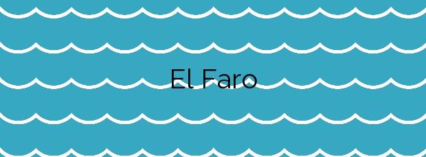 Información de la Playa El Faro en Fuencaliente de la Palma