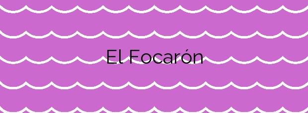 Información de la Playa El Focarón en Muros de Nalón