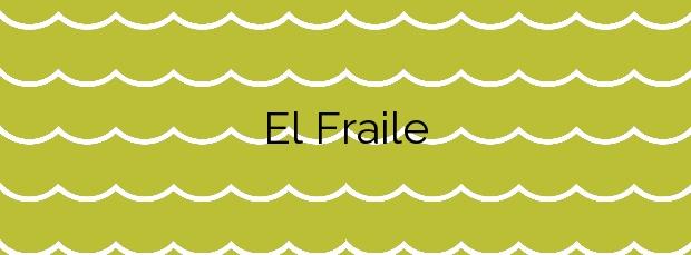 Información de la Playa El Fraile en Buenavista del Norte