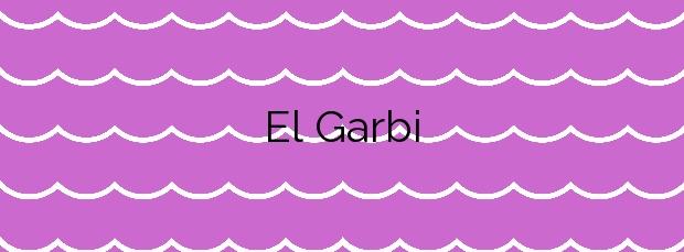 Información de la Playa El Garbi en Sant Carles de la Ràpita