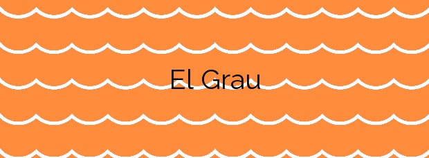 Información de la Playa El Grau en Moncofa