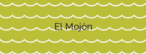 Información de la Playa El Mojón en Mazarrón