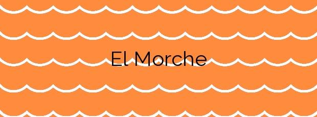Información de la Playa El Morche en Torrox